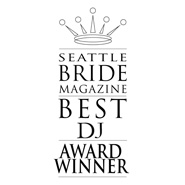 Five Time Winner - Best Wedding DJ Seattle