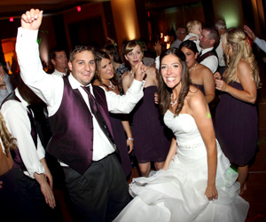 Our Musicfit packages for Seattle Weddings include everything you need, from Wedding Up-lights and Uplighting to great wedding djs.